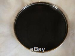 Gorham Sterling Silver Rim Laminated Plastic Trivitray Original Label