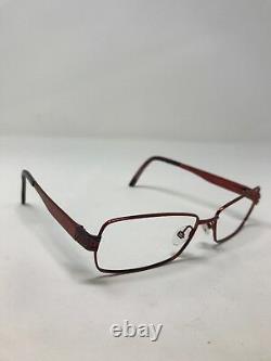 Gucci Eyeglass Frames G2750-GTX Red Bronze METAL FULLRIM 54-15-140 Full Rim Pc74