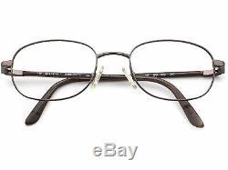 Gucci Vintage Eyeglasses GG 1629 3VE Pewter Full Rim Frame Italy 5019 135