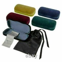 Gucci Web GG0753O 003 Eyeglasses Men's Silver/Blue Full Rim Optical Frame 58mm