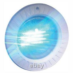 Hayward ColorLogic 4.0 Inground LED Pool Light with Plastic Face Rim, 100 Ft Cord
