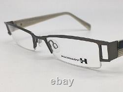 Humphreys Eschenbach 582016 Silver Grey Extravagant half Rim 49-18 Medium