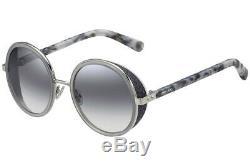 Jimmy Choo ANDIE/S J7L Women Grey / Silver Metal Rim 54mm Sunglasses