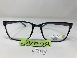 Jones New York Eyeglasses Frame J527 BLUE 54-17-145 Blue/Silver Full Rim WB98