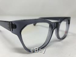 Kirk & Kirk Eyeglasses Frame France K6 Cady Silver Crystal Full Rim Plastic IF22