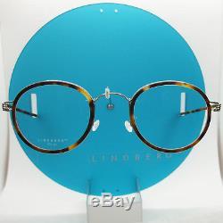 Lindberg Rim Titanium Lex K25m P10 Silver Tortoise Eyeglasses Spectacle Frames
