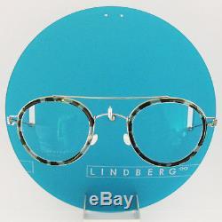 Lindberg Rim Titanium Round Teitur Silver P10 / K217 Eyeglasses Spectacle Frames