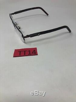 MONTBLANC MB399 Eyeglasses Frame Italy Half rim 54-20-140 Silver/Tortoise TT14