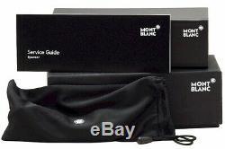 Mont Blanc Eyeglasses MB0581 0581 A16 Silver/Havana Semi Rim Optical Frame 58mm