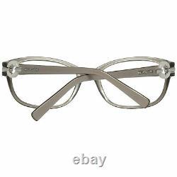 Montblanc MB 0442 Women Gray Optical Frame Plastic Full Rim Oval Case Eyeglasses