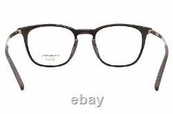 Morel OGA 10140O NG07 Eyeglasses Men's Black/Silver Full Rim Optical Frame 52mm