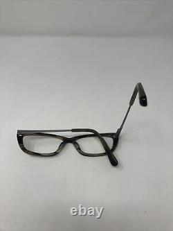 NIKE Eyeglasses Frames 5523 058 50-14-135 Tortoise/Silver Full Rim HF57