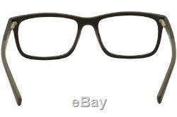 Nike Eyeglasses 7238 010 Black/Dark Grey/Silver Full Rim Optical Frame 54mm