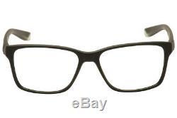 Nike Men's Eyeglasses 7091 011 Black/Crystal/Silver Full Rim Optical Frame 54mm