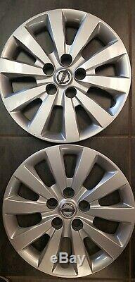 Nissan Sentra Leaf Set Of 2 Hubcaps Wheel Rim Covers 2013-2019 16 403153nf0b