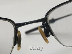 OAKLEY SPOKE 0.5 Eyeglass Frames OX3144 0153 Half Rim 53-19-140 Black U574