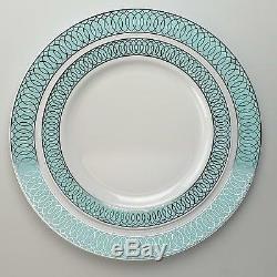 OCCASIONS 120/240 Piece Pack Premium Disposable Plastic Plates Set