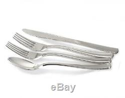 OCCASIONS 200pcs set (25 200 Piece Guest), a. White with Silver Rim