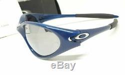 Oakley Iridium Full Rim USA Blue Frame Race Sunglasses 100% authentic -Nos