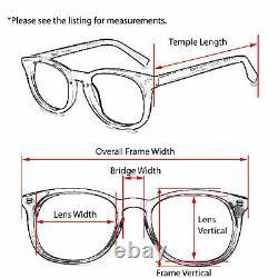 Persol Eyeglasses 2374-V 950 Silver/Smokey Blue Half Rim Frame Italy 5217 135