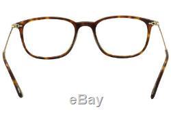 Persol Eyeglasses 3146V 3146/V 24 Havana/Gold/Silver Full Rim Optical Frame 51mm