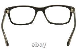 Persol Men's Eyeglasses 3012V 3012/V 95 Black/Silver Full Rim Optical Frame 52mm