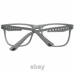 Police VPL 485 Men Silver Optical Frame Plastic Full Rim Rectangle Eyeglasses