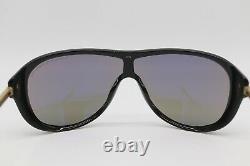 Porsche Design P8598 C Men's Grey Gold Full Rim Sunglasses Italy Brand New