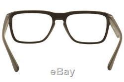 Prada Eyeglasses VPR04S VPR-04S TFD-1O1 Brown/Silver Full Rim Optical Frame 55mm