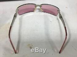 Prada Half-Rim Sunglasses P002 Silver/Purple 62-14 125