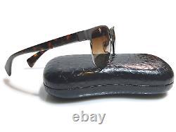 Prada Men's Sunglasses Silver Havana Rectangle Full Rim SPR 510 58 17 140