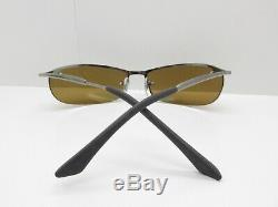RAY-BAN RB3186 TOPBAR 004/71 3N Half Rim SPORT EYEGLASSES FRAMES 63-15-130 54858