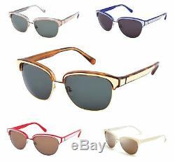 REBECCA MINKOFF Carmine Rimmed Cateye Sunglasses $220 NEW