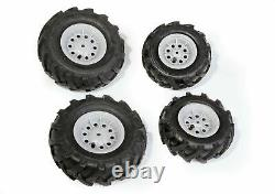 ROLLY TOYS 409846 pneumatic tires for tractors Silver Rim