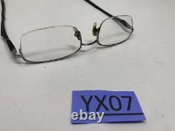 Ray Ban Eyeglasses Frame RB6133 2502 51-19-140 Black Silver Half Rim YX07