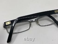 Ray Ban Eyeglasses Frame RB6169 2502 52-16-140 Black Full Rim B614