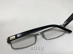 Ray Ban Eyeglasses RB6169 2502 52-26-140 Black Silver Full Rim XV28