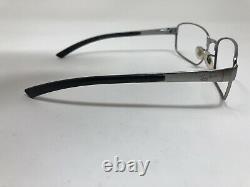 Ray Ban Sunglasses Frame RB3413 004 59-18 Silver Black Full Rim CA66