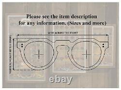 Robert Rudger 2280 010 02 Vintage 90s black & silver double rim oval sunglasses
