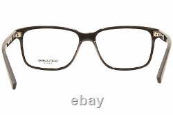 Saint Laurent SL-458 001 Eyeglasses Men's Black/Silver Full Rim Square 56mm