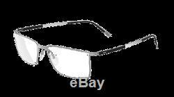 Silhouette Titan Contour Full Rim 5445 silver black 6051 Eyeglasses