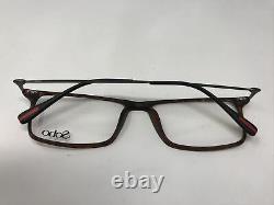 Soho Eyeglasses Frames SH3266 Demi Amber Silver 54-16-140 Full Rim ZM34
