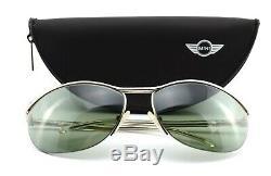 Starck for Mikli Sunglasses P301 10086 half Rim Sunglasses Silver + Mini Case