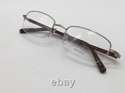 Sunglasses Frame Paul Smith PS162 Silver half Rim Size M 1990er New