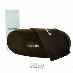Tom Ford FT5201 013 Silver Full Rim Rectangular Men Optical Frames Eyeglasses