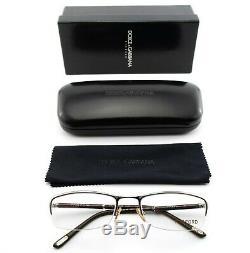 Tom Ford Glasses Tf 5049 337 52 18 130 Square half Rim Eye Frame S+D & G Case Ce