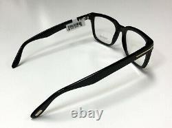 Tom Ford TF 5304 Shiny Black 001 Full Rim Silver'T' Logo Eyeglass / RX Frame