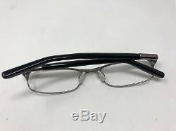 Tommy Hilfiger TH1207 25K 53-17-135 Black Silver Full Rim Eyeglass BJ89