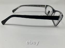 U. S. Army Eyeglasses Frames Silver Star Black 52-16-135 Full Rim Plastic MU60