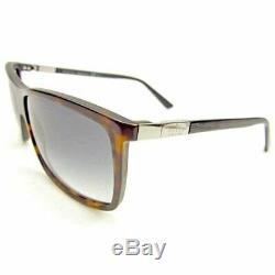 Used Authentic GUCCI Sunglasses Full Rim Black Brown Silver Women Men Unisex